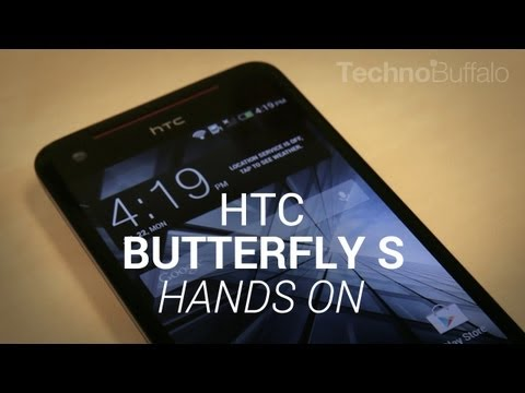 HTC Butterfly S Hands-On