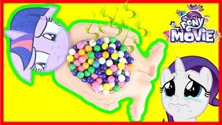 What's Inside Twilight Sparkle Slime Belly MLP Movie 2017 Toy Surprises Johnny Johnny Yes Papa