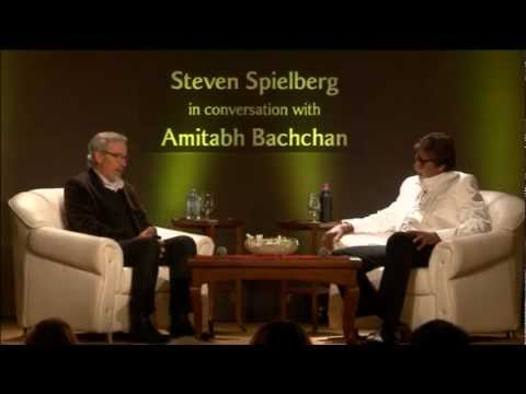 Filmmaker Steven Spielberg in conversation with actor Amitabh Bachchan (Part 2)