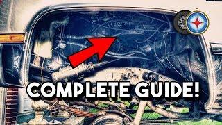 How To Remove Inner Fender / Wheel House 81-87 Chevy Truck Squarebody | CUCV