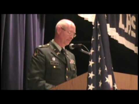 LaFayette High School honors military veterans; retired four-star general is featured speaker