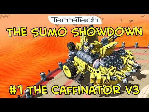The TerraTech Sumo Showdown League (Season 1) - #1 The Caffinator v3