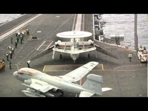 Navy Aircraft Carrier Landings in HD