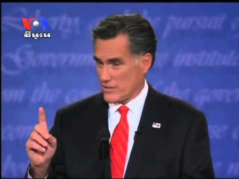 In First Presidential Debate Romney Put Obama in Hard Defensive
