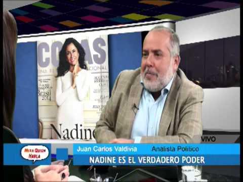 Juan Carlos Valdivia:  Nadine Heredia tiene una adicción de poder