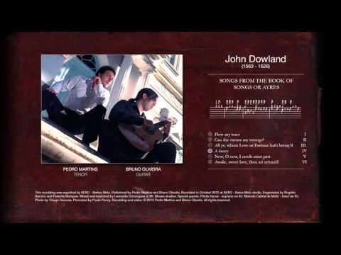 John Dowland - My Thoughts of Songs or Ayres