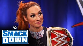 Becky Lynch well-suited as WWE Draft first pick: SmackDown Exclusive, Oct. 11, 2019