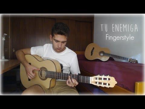 Tu Enemiga - Karen Méndez ft. Mike Bahía - Cover Guitarra (Fingerstyle)