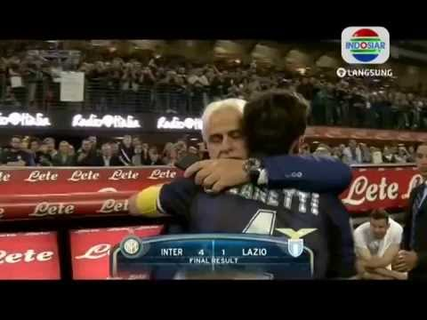 Javier Zanetti Last Home Match for INTER MILAN