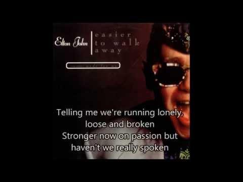 Elton John - I Swear I Heard The Night Talking