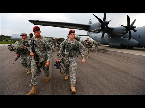Photos of the Day - U.S. Troops Arrive in Poland - April 23, 2014