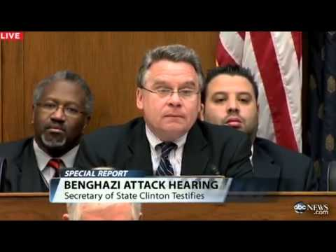 Hillary Clinton Testifies at Benghazi Attack Hearing:  Cites Lack of Funding in Global Outpost