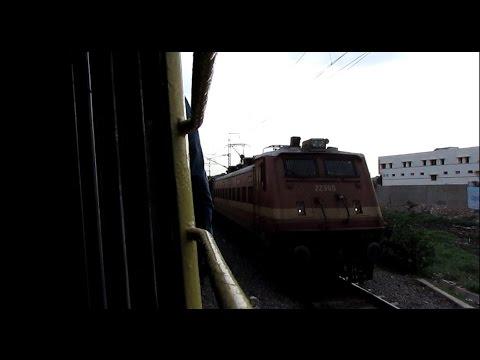 [hd]: Honking Ed Wap 4 Tamil Nadu Sf Express Crosses Kok video