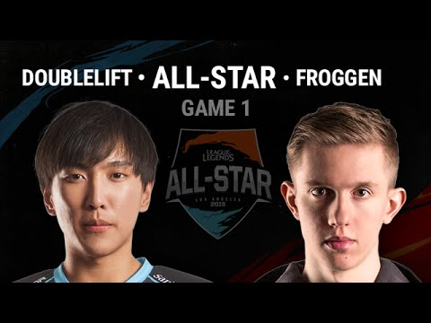 Doublelift vs Froggen Highlights 1v1 Semi-Final LoL All-Star 2015 LA All Games