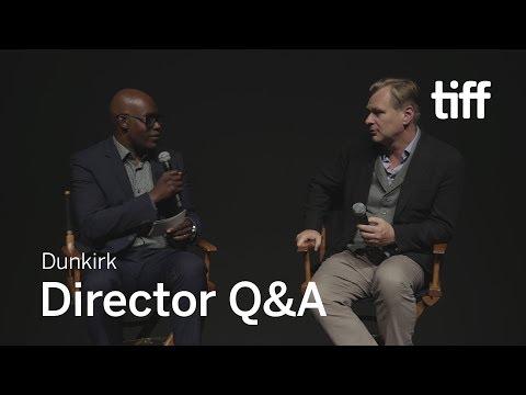 Christopher Nolan DUNKIRK Q&A | TIFF 2017
