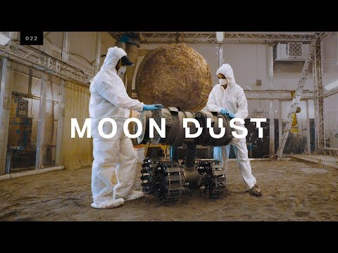 Building a lunar base out of Moon dust
