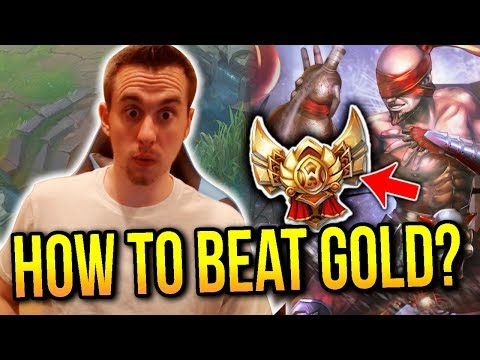 HOW TO BEAT GOLD PLAYERS AS LEE SIN | Lee Sin ONLY to Diamond Solo Queue #8 - League of Legends