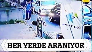 Kadına Yumruk Atan Saldırganı Polis Her Yerde Arıyor