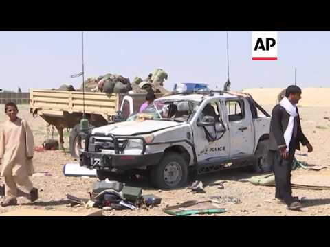 Southern Afghanistan - Bomber targets police | Editor's Pick | 14 May 16