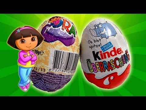 Dora The Explorer and Kinder Surprise