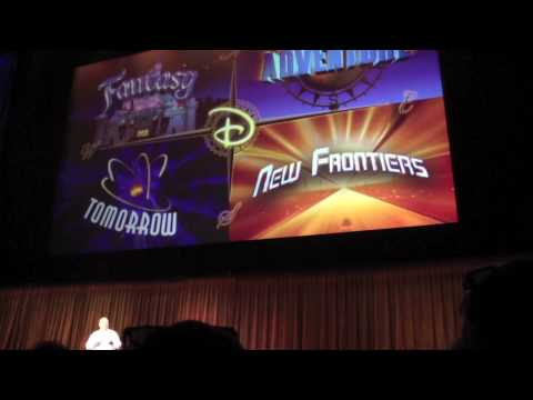 D23 Expo: Imagineering the Future of Disney Parks Part 1 of 6