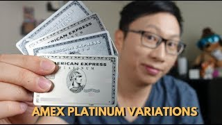 Every Single Variation of the American Express Platinum Card