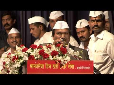 Shri  Pavan Agrawal PHD Mumbai Dabbawala