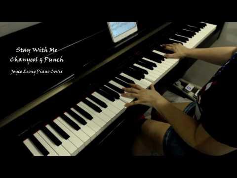 찬열, 펀치(Chanyeol, Punch) - Stay With Me 피아노 연주, 도깨비(Goblin) OST Part 1