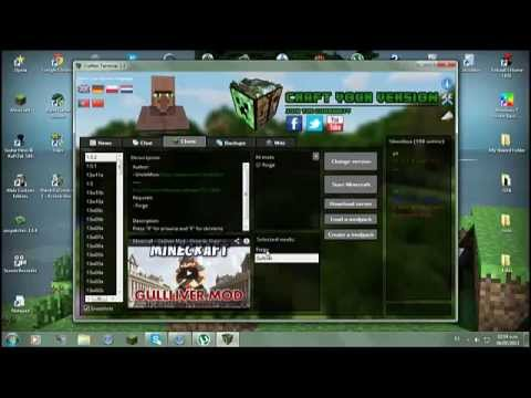 Descargar e instalar Mod de Gulliver para minecraft 1.5.2 + Review