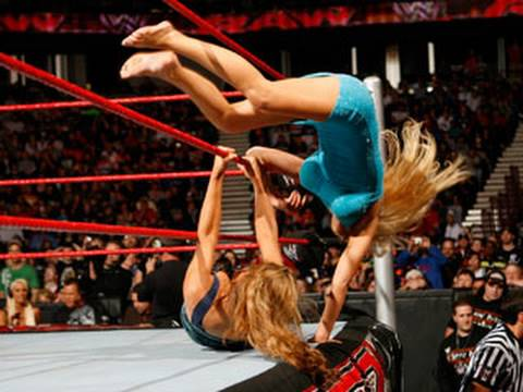 Raw: Divas Red Carpet dress To Impress Battle Royal video