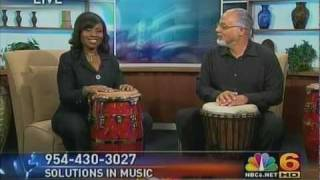 Third World Band former drummer, William Stewart & NBC's Sharon Lawson Interview