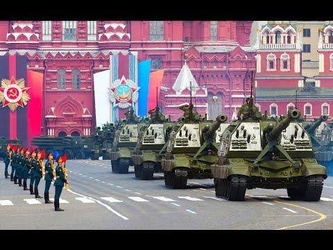 Военный парад! Очень яркая демонстрация военной мощи!!!