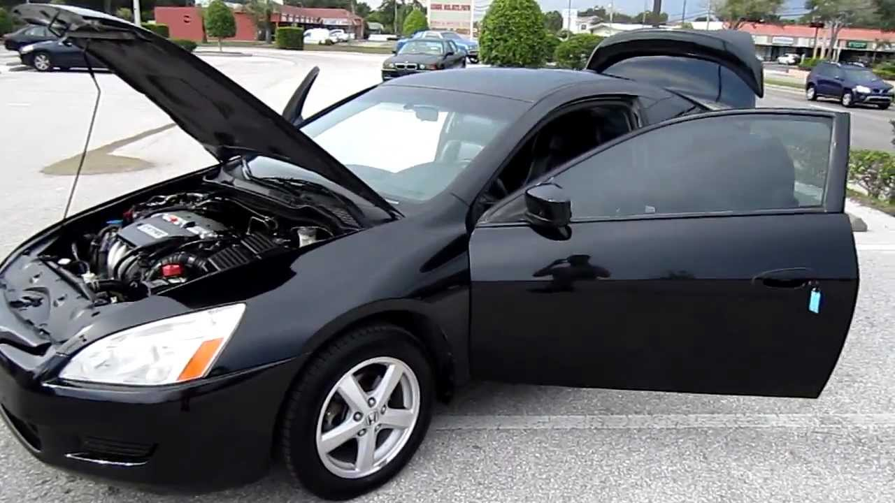 SOLD 2004 Honda Accord EX-L VTEC Mint Meticulous Motors Florida For Sale - YouTube