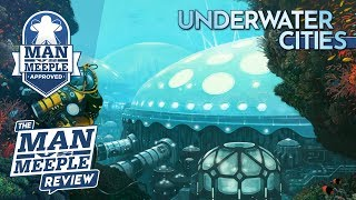 Underwater Cities Review by Man Vs Meeple (Delicious Games)