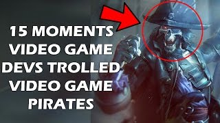 15 Brutally Devious Ways Game Devs Punished And Trolled Pirates