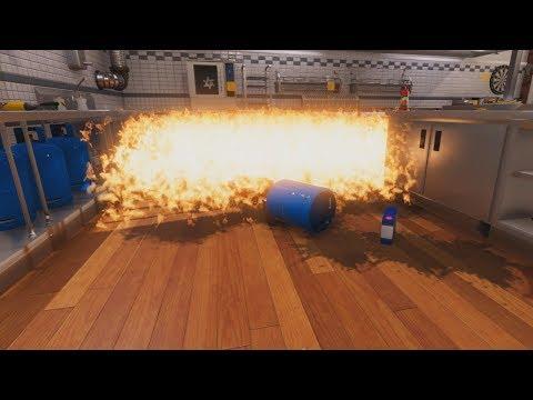 I make spaghetti in Cooking Simulator (part 1)