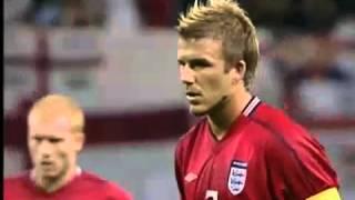 2002 World Cup .. England - Argentina 1-0