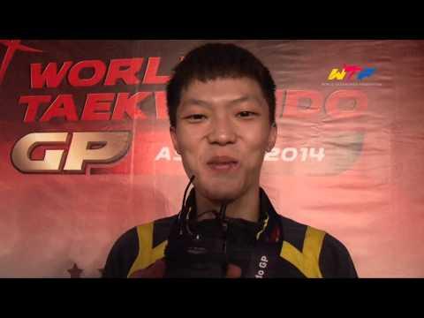 Gold | Wei Chen Yang (tpe)   2014 Wtf World Taekwondo Grand Prix Series 2 video