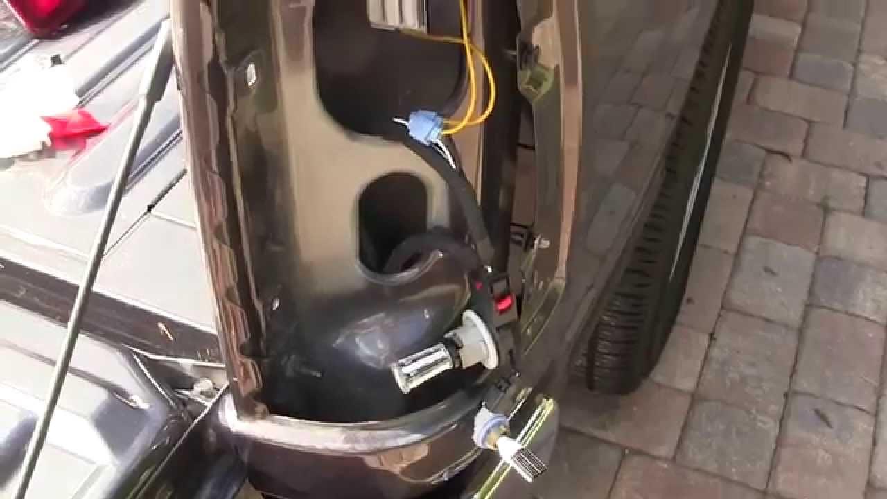 2014 Dodge Ram 1500 turn signal/brake light and reverse ...
