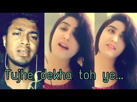 Tujhe Dekha to short   smule cover song  