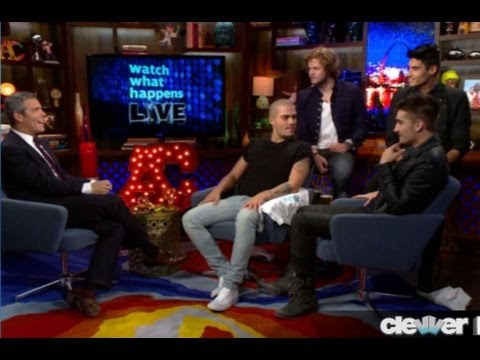 The Wanted Call Louis Tomlinson Gay on Watch What Happens Live!