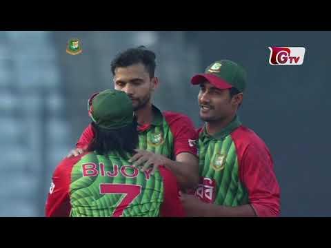Bangladesh vs Zimbabwe Highlights | 5th ODI | Tri-Nation Series 2018