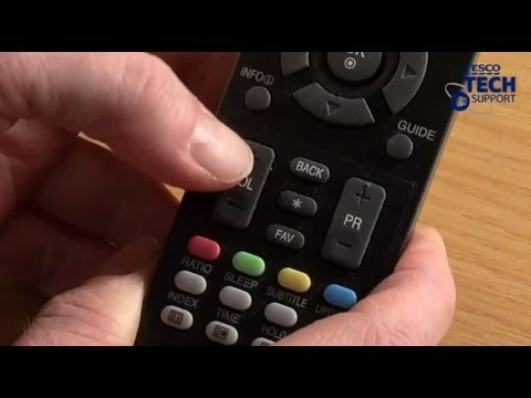 How to set up a universal remote