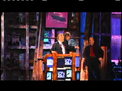 The Righteous Brothers accept award Rock and Roll Hall of Fame inductions 2003