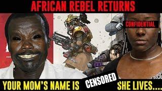 African Rebel KONY HORRIFIES Apex Legends Gamer & HIS MOM!