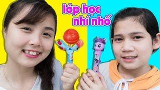 100% Nhí Nhố, Trò Chơi Ăn Kẹo Mút Lollipop My Little Pony Pops Up ❤ Chị Hằng TV