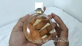 Chance Chanel Eau De Parfum 100ML Made in France  - Unbox