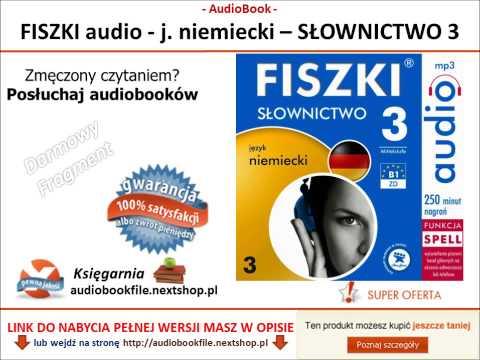 SZYBKA NAUKA NIEMIECKIEGO - SŁOWNICTWO 3 - FISZKI AUDIO - MP3, Do Pobrania