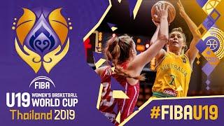 Australia v Hungary - Full Game - FIBA U19 Women's Basketball World Cup 2019