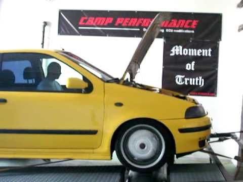 Fiat Punto GT 2.0 Turbo Dyno test in Camp Performance